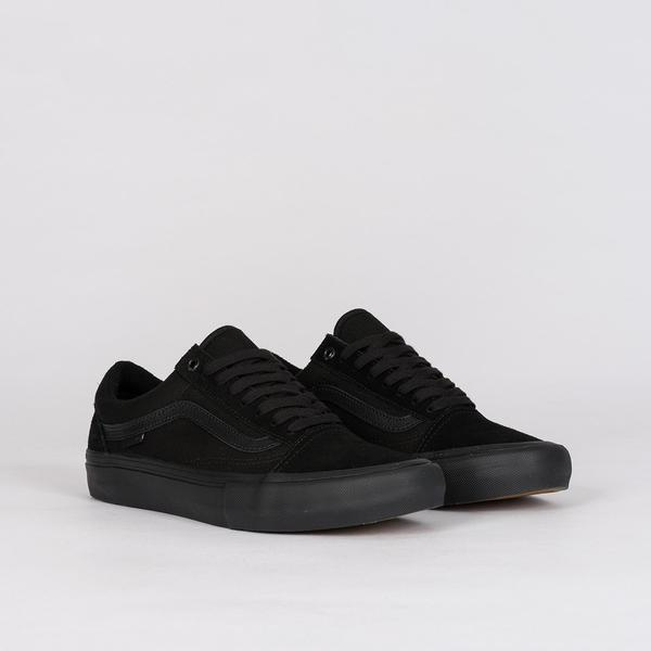 Vans Old Skool Pro Blackout - Unisex S