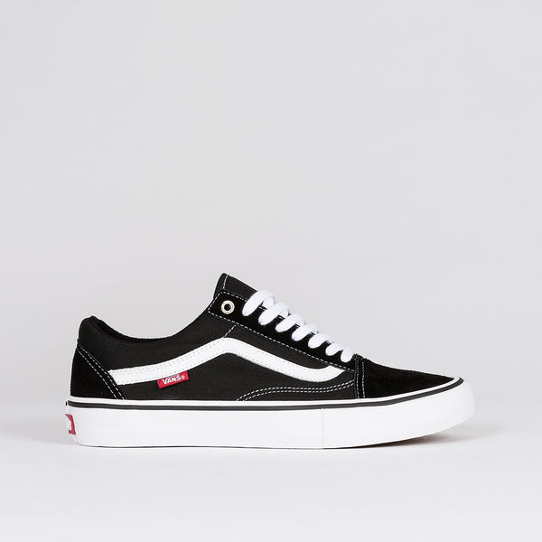 Vans Old Skool Pro Black/White - Unisex S - Footwear