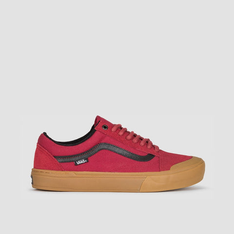 Vans Old Skool Pro Bmx Ty Morrow Biking Red/Gum