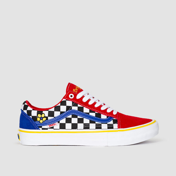 Vans Old Skool Pro Brighton Zeuner Red/Checker/Blue - Unisex S
