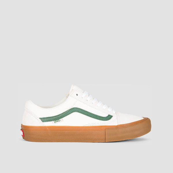 Vans Old Skool Pro Marshmallow/Alpine - Footwear