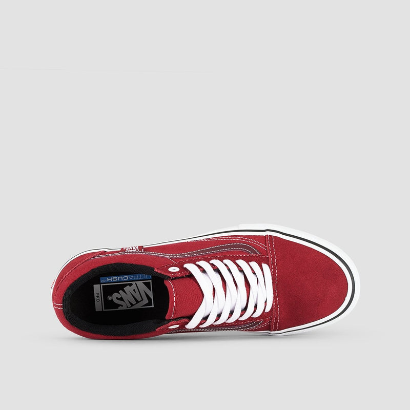 Vans Old Skool Pro Rumba Red/True White - Footwear