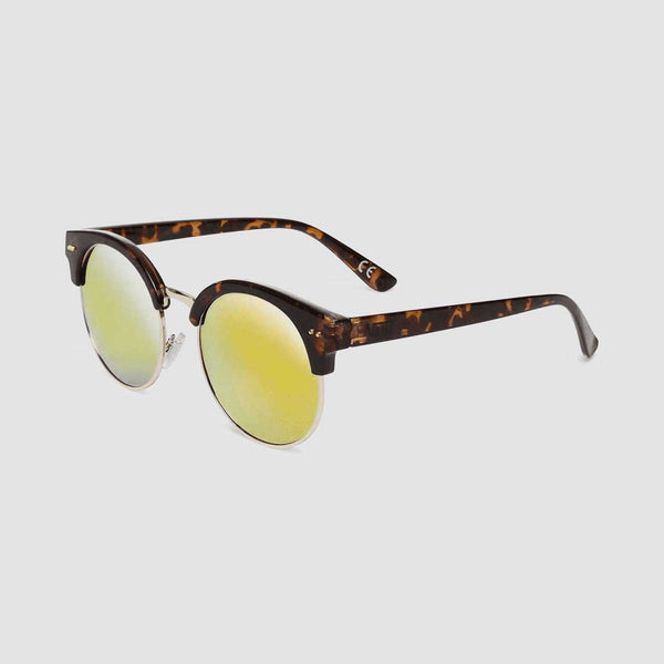 Vans Rays For Daze Sunglasses Tortoise/Sunset Mirror Lens - Womens