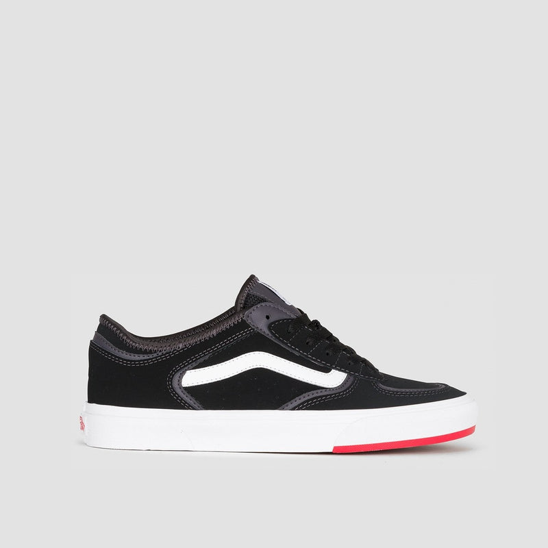 Vans Rowley Classic 66/99/19 Black/Red - Unisex L - Footwear