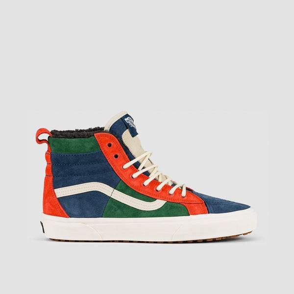 Vans Sk8-Hi 46 MTE DX Fairway/Gibraltar Sea - Unisex L - Footwear