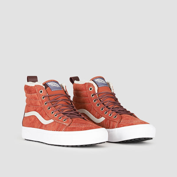 Vans SK8-Hi MTE Hot Sauce/Port Royale - Kids - Footwear