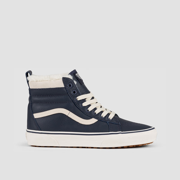 Vans Sk8-Hi MTE Leather/Parisian Night - Unisex L - Footwear