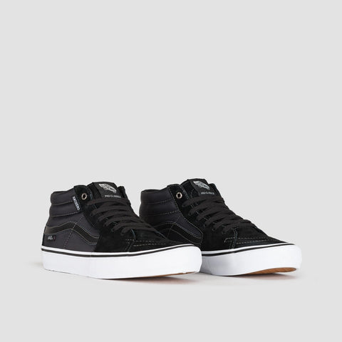 Vans Sk8-Mid Pro Anti Hero Grosso/Black - Footwear