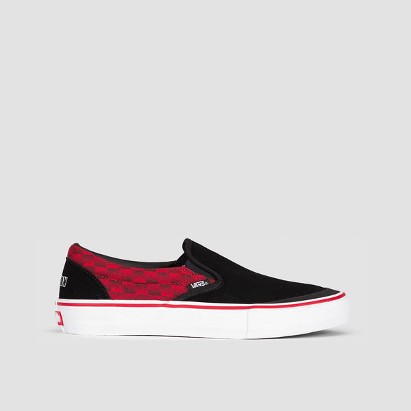 Vans Slip-On Pro Baker Rowan/Speed Check - Kids - Footwear