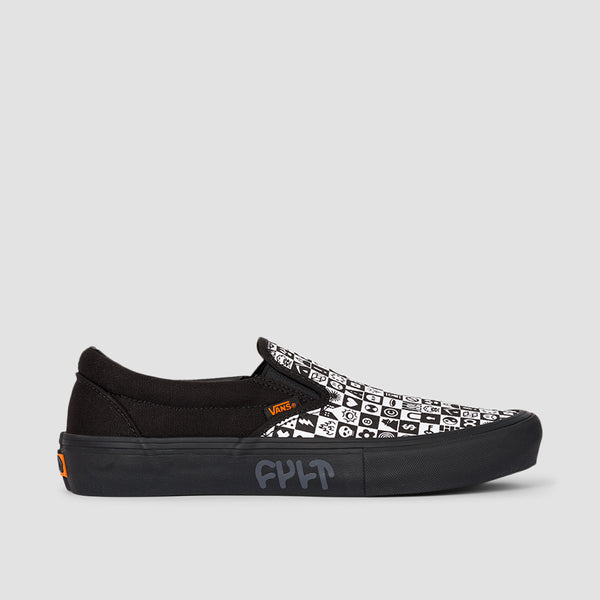 Vans Slip-On Pro Cult Black Checker - Unisex S