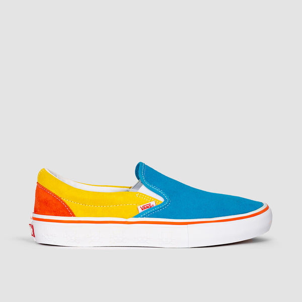 Vans Slip-On Pro The Simpsons Blue/Yellow - Kids