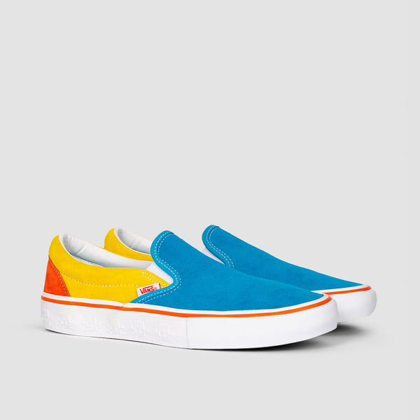 Vans Slip-On Pro The Simpsons Blue/Yellow