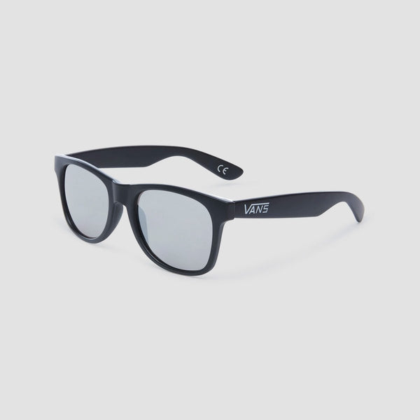 Vans Spicoli Flat Shades Black/Silver Mirror - Accessories