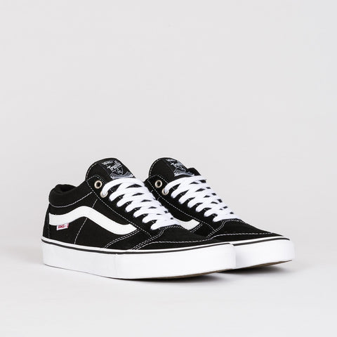 Vans TNT SG Black/White - Footwear