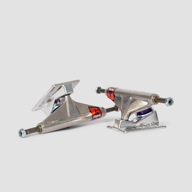 Venture High 5.0 V Hollow Trucks 1 Pair All Polished - 7.62""