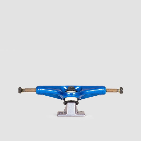Venture Low 5.2 V Light Bullet Trucks Blue/Gun Metal - 8 - Skateboard