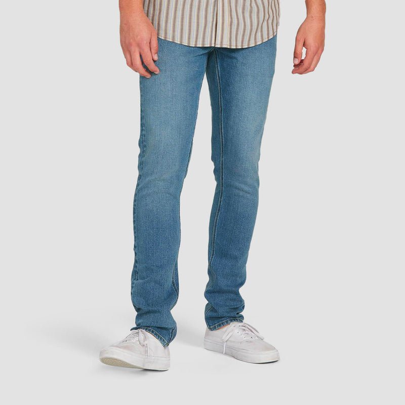 Volcom 2X4 Skinny Fit Jeans Old Town Indigo