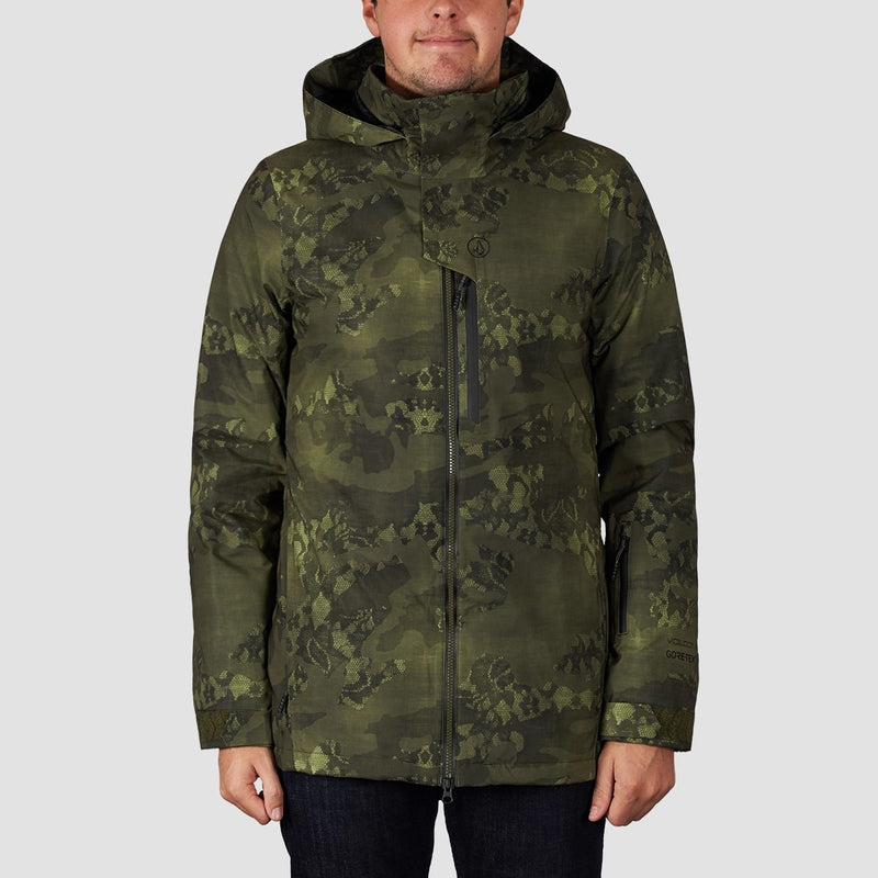 Volcom 3D Stretch Gore-Tex Snow Jacket Camouflage - Snowboard