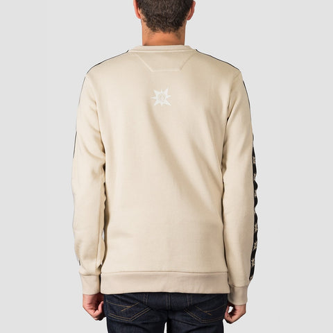 Volcom A.P. Crew Sweat Feather Grey - Clothing