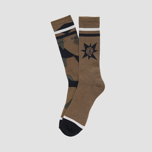Volcom A.P.#2 Socks Camouflage