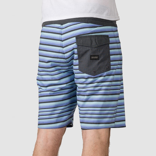Volcom Aura Stoney 19 Boardshorts Light Purple - Clothing
