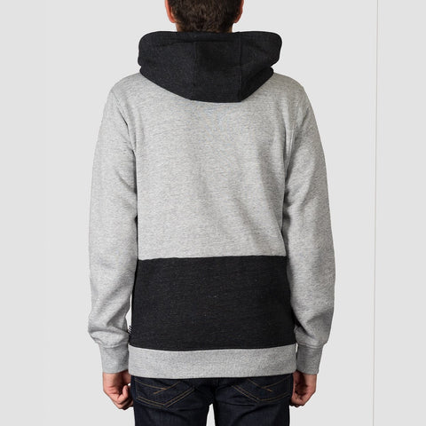 Volcom Backronym Zip Hood Grey - Clothing