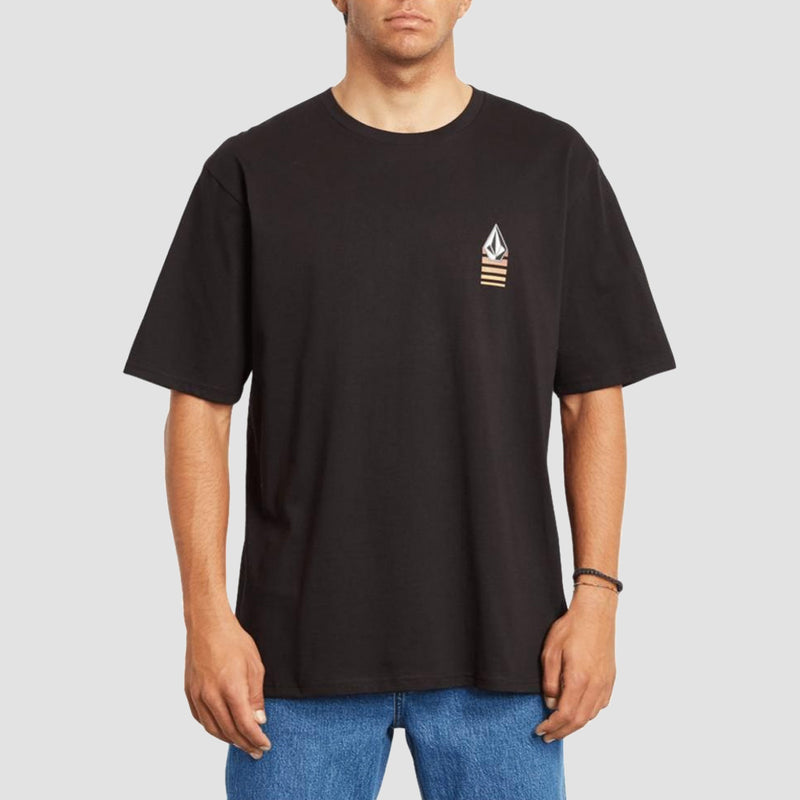 Volcom Bloxer Relaxed Fit Tee Black