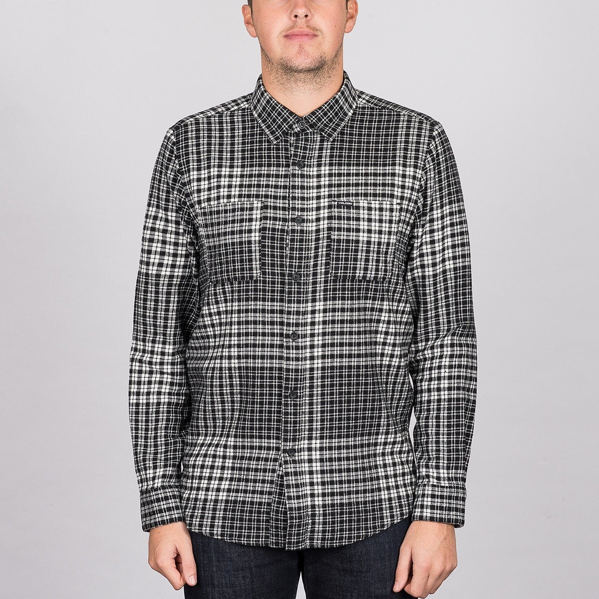 Volcom Bolden Longsleeve Shirt Cloud - Clothing
