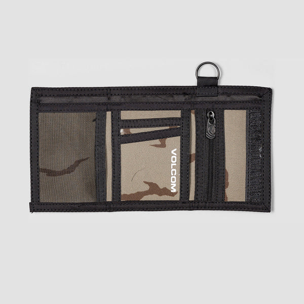 Volcom Box Stone Wallet Army Green Combo