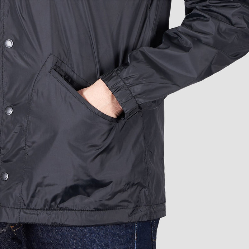 Volcom Brews Coach Jacket Black - Clothing