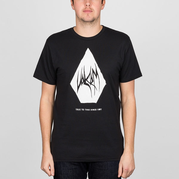 Volcom Carving Block Tee Black - Clothing