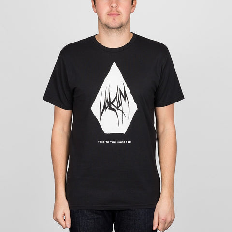 Volcom Carving Block Tee Black