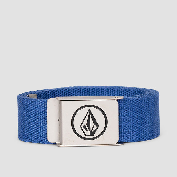 Volcom Circle Web Belt Deep Water