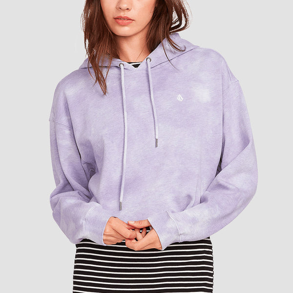 Volcom Clouded Pullover Hood Multi - Womens