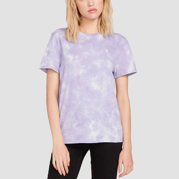 Volcom Clouded Tee Multi - Womens