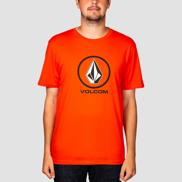 Volcom Crisp Stone Tee Pepper Red