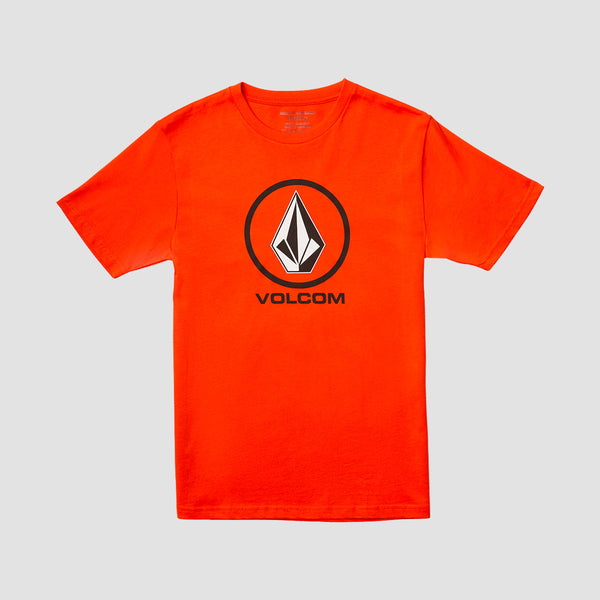 Volcom Crisp Stone Tee Pepper Red - Kids