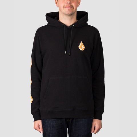 Volcom Deadly Stone Pullover Hood Black