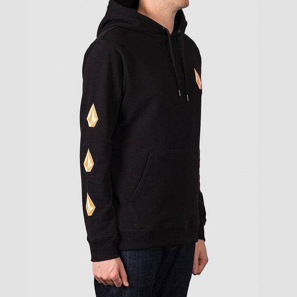 Volcom Deadly Stone Pullover Hood Black - Clothing