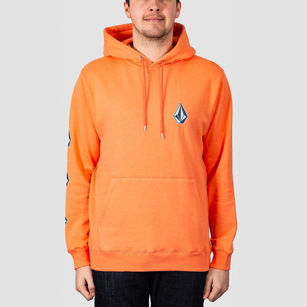 Volcom Deadly Stones 2 Pullover Hood Salmon - Clothing