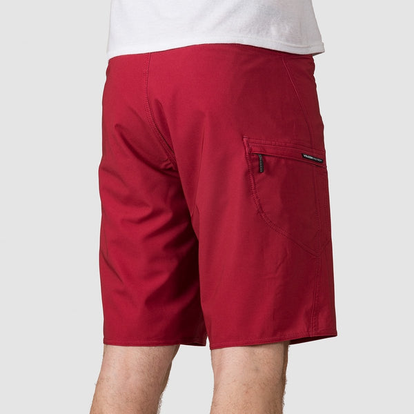 Volcom Deadly Stones 20 Boardshorts Burgundy - Clothing
