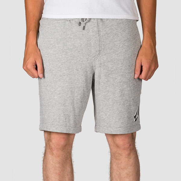 Volcom Deadly Stones Fleece Sweat Shorts Storm - Clothing