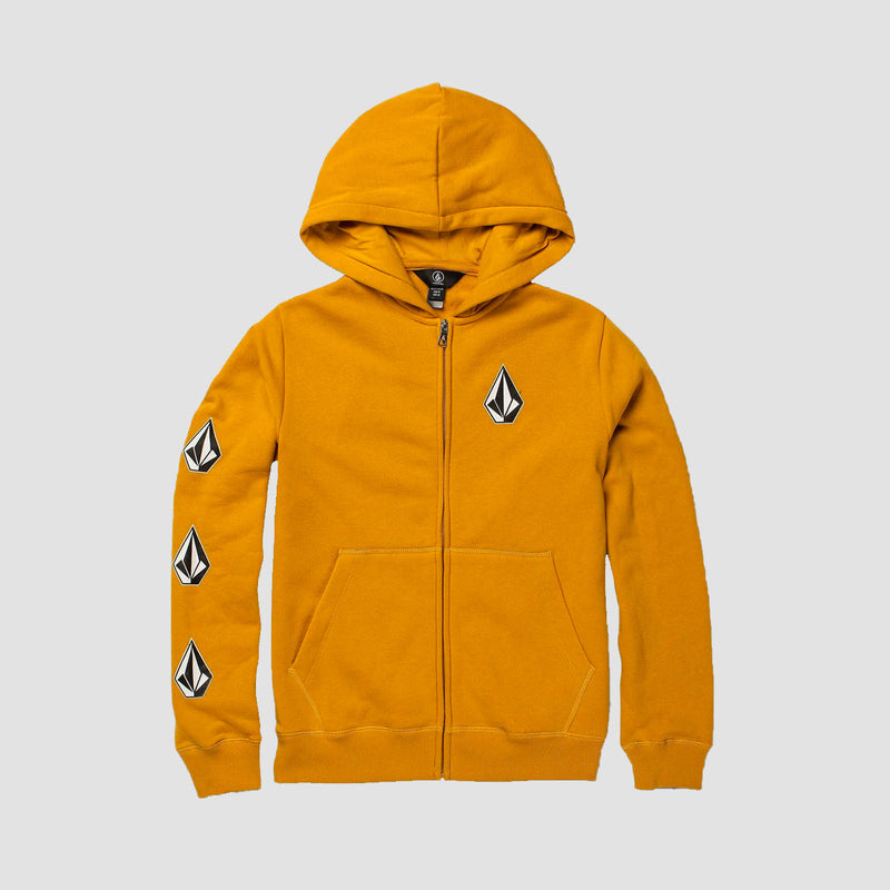 Volcom Deadly Stones Zip Hood Gold - Kids
