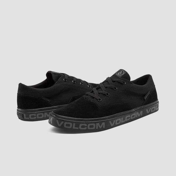 Volcom Draw Lo Suede Blackity Black