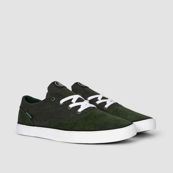 Volcom Draw Lo Suede Faded Army