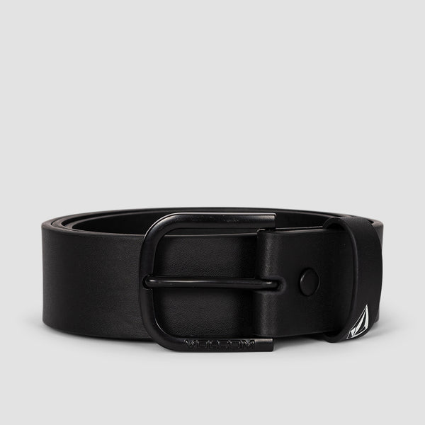Volcom Empty Pu Belt New Black