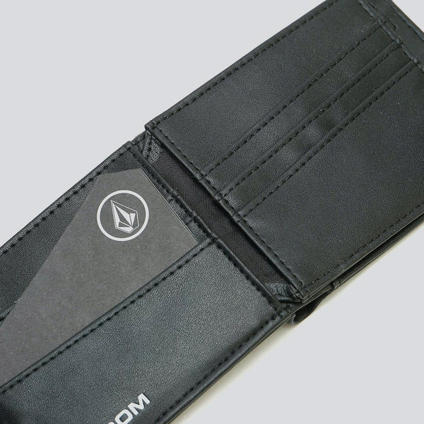 Volcom Empty Pu Wallet New Black