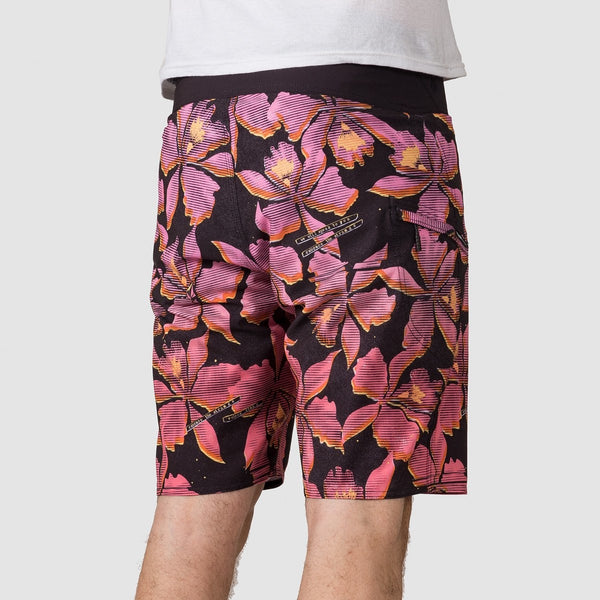 Volcom Fauna Mod 20 Boardshorts Neon Pink - Clothing