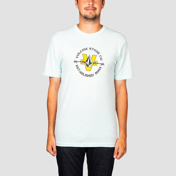 Volcom Fence Tee Resin Blue