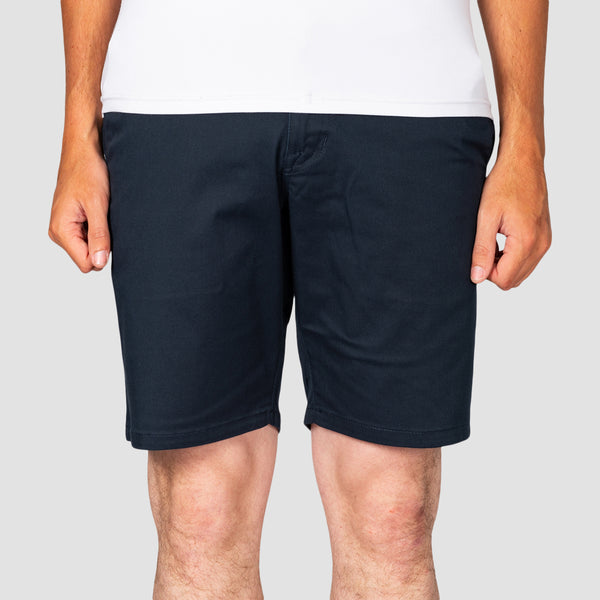 "Volcom Frickin Modern Stretch 19"" Shorts Dark Navy"